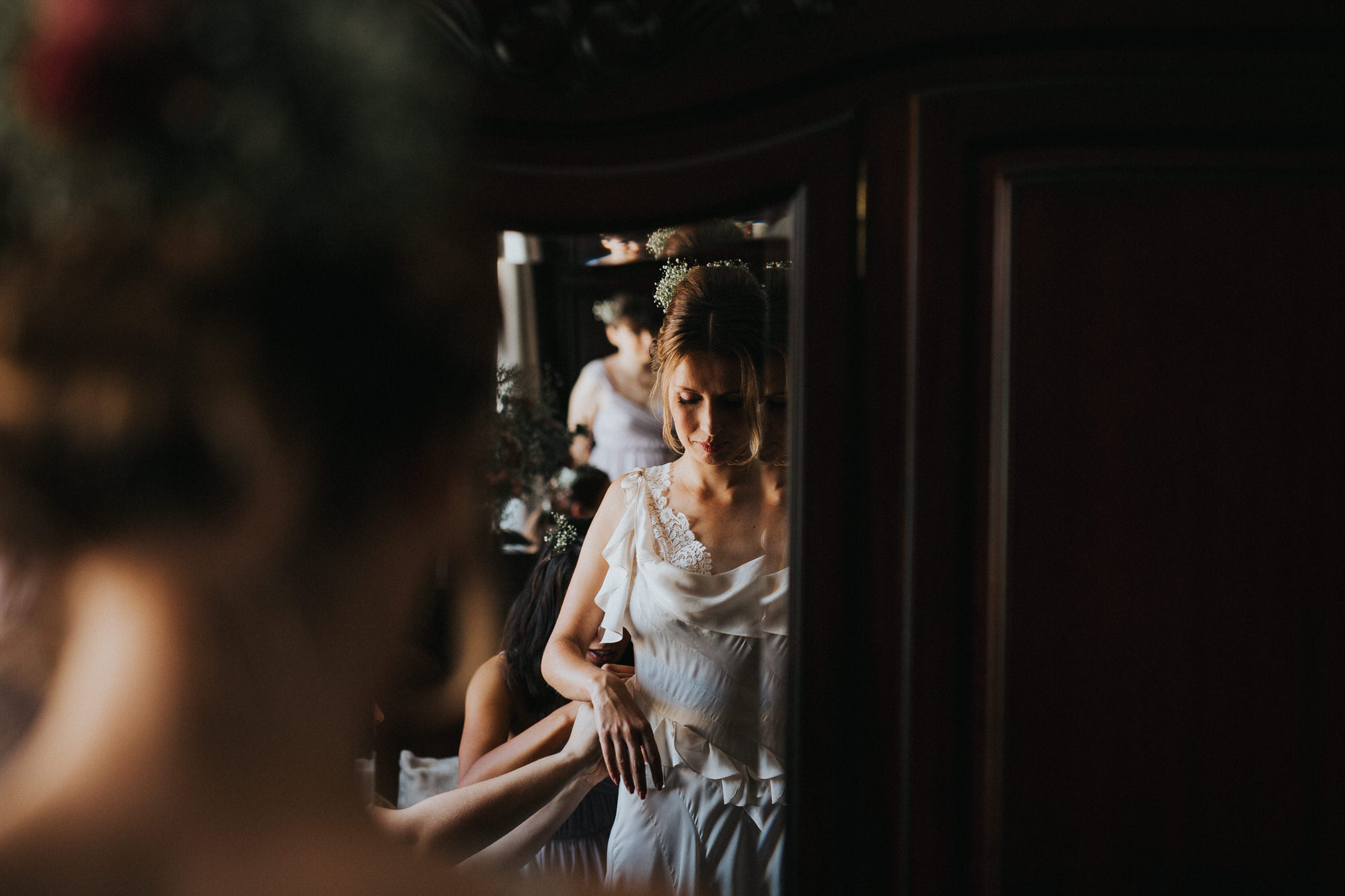 Filipe Santiago Fotografia-fotografo-malveira-lisboa-cascais-mafra-melhores-reportagem-wedding-photography-portugal-lisbon-best-natural-casamentos-lifestyle-bride-ideias-rustic-boho-hair-mackup-damas-preparativos-preparations-bridemaids-dress-storie-mirror