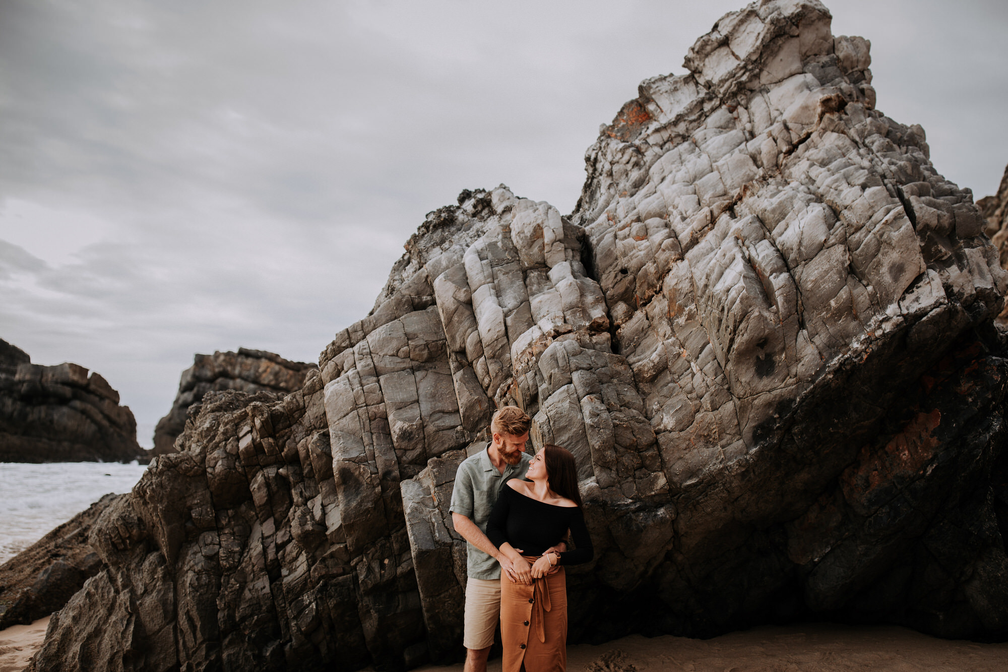 06 Alla + Paul, Sintra - Adraga - session - filipe santiago fotografia - beach - photography - couple - best - rocks - view - spot